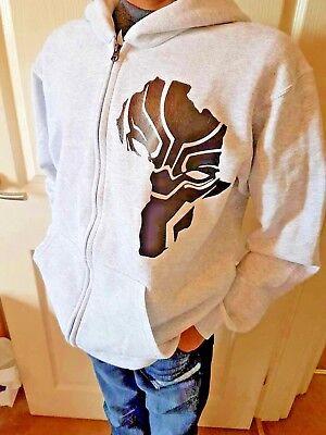 WAKANDA AFRICA HOODIE BLACK PANTHER MARVEL BLACK ADULT /& KIDS HOODIE HOODY TOP