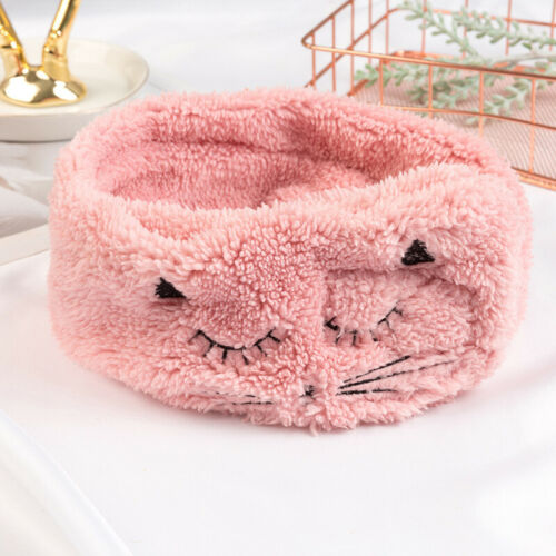Big Bow Soft Dot Striped Towel Hair Band Wrap Headband For Make Up Bath Spa