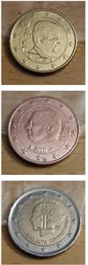 Belgique Euro Centimes 2 à 5 ème Série Courante 2008 à 2014 - 2012 Commémorative