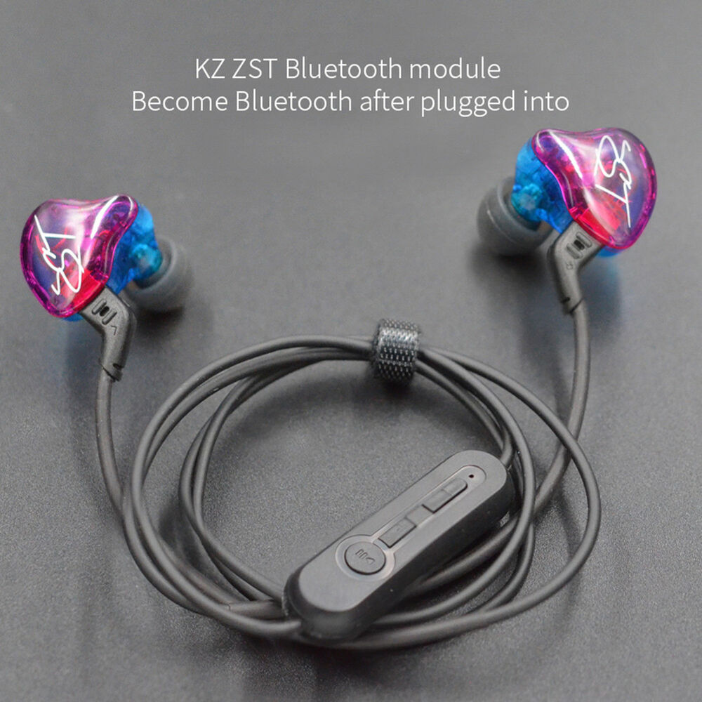 KZ ZST/ES3/ZS5/ZS6 Wireless Bluetooth Upgrade Module Earphone Cable 0.78mm Well Consumer Electronics