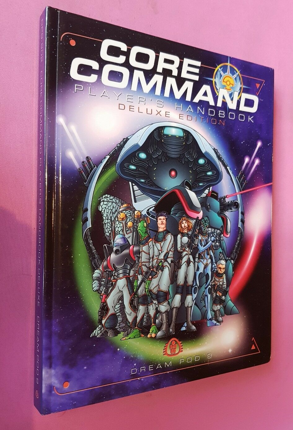 PLAYERS HANDBOOK DELUXE EDITION - CORE COMMAND DREAM POD 9 DP9 RPG ROLEPLAYING