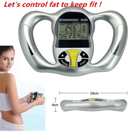 Digital Body Fat Tester Health Analyzer Meter Handheld Calculator Monitor Device