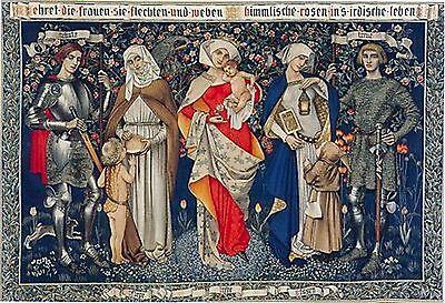 Ehret Die Frauren~counted cross stitch pattern #1898~Fine Art Graph Chart