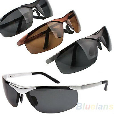 Men's Cool Police Metal Frame Polarized Sunglasses Driving Glasses Exotic