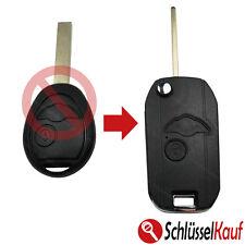 Mini Klappschlüssel Umbau Kit Auto Fernbedienung Gehäuse One Clubman Cooper Neu