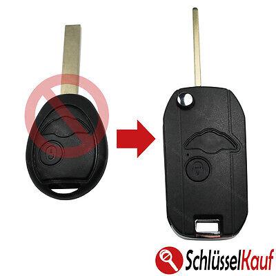 Cabrio 2 Tasten HU92 Clubman Umbau Schlüssel Gehäuse MINI One Cooper