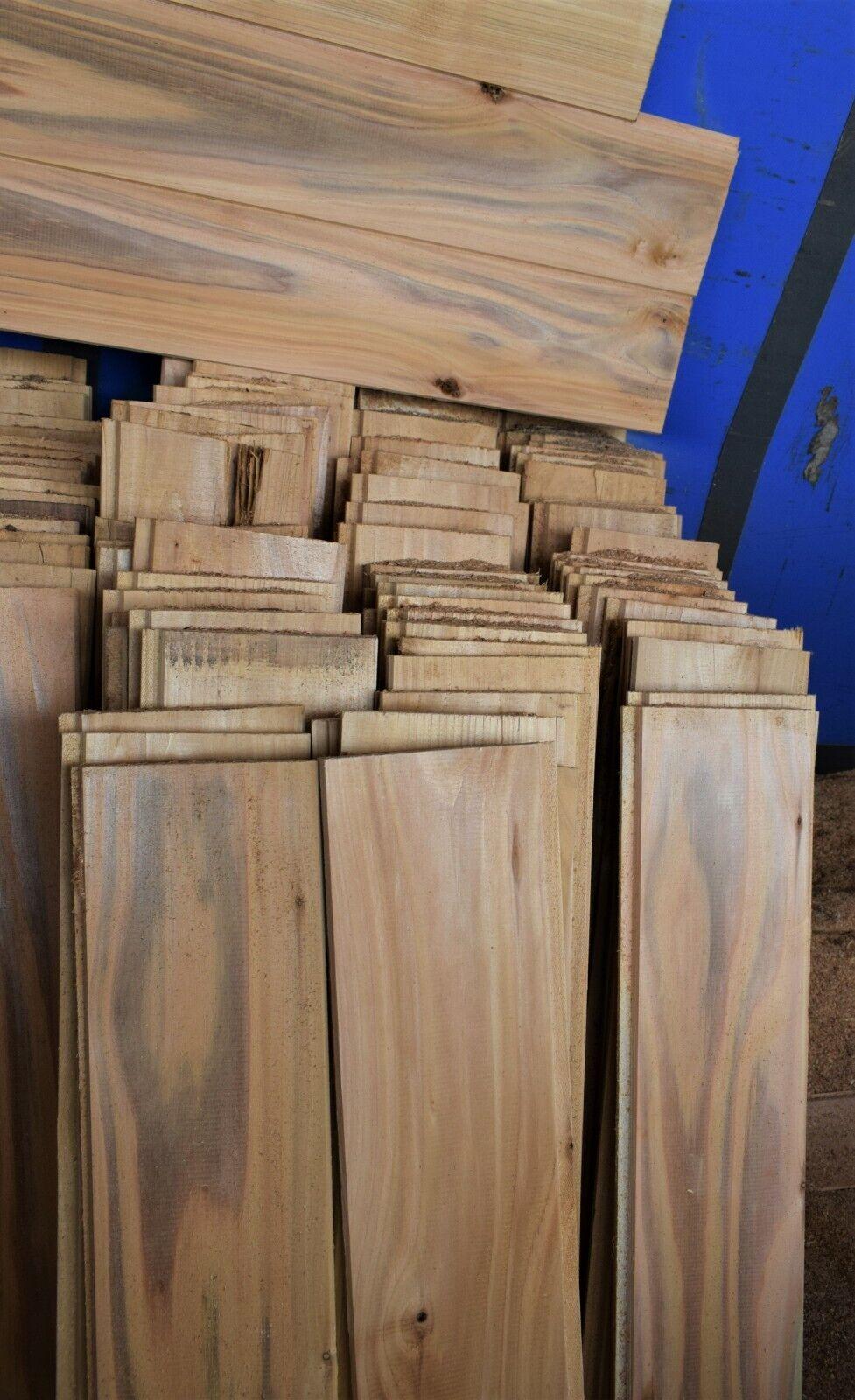 (1m²) Off Cuts 15 x 135 British Red Cedar Tongue Groove Timber Cladding