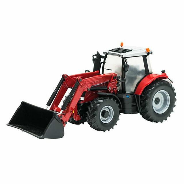 43082A1 BRITAINS FARM 1//32 MASSEY FERGUSON 6616 WITH LOADER MODEL TRACTOR MIB