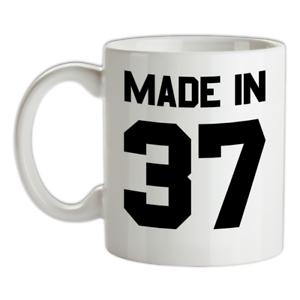 Made-in-039-37-Mug-82nd-Compleanno-1937-Regalo-Regalo-82-Te-Caffe