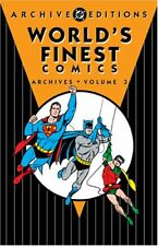 DC Archive Editions: World's Finest Comics Archives Vol. 3 by Bill Finger and Jerry Coleman (2005, Hardcover, Revised)