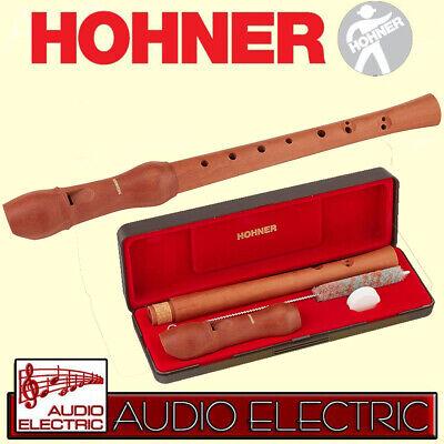 Hohner B-9532 Musica Sopran Blockflöte barocke Griffweise zweiteilig Doppel-Loch