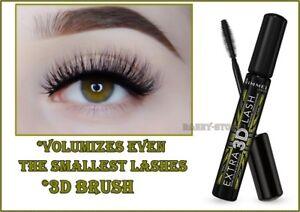 e4ff523c8a2 Image is loading Rimmel-3D-Extra-Lash-Mascara-003-Extreme-Black-