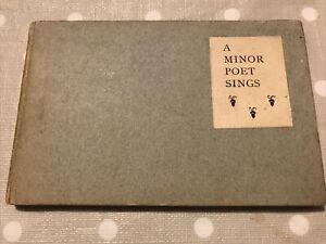 A-Minor-Poet-Sings-Francis-Edwin-Murray-1907-Uranian-Poetry-LIMITED-ed
