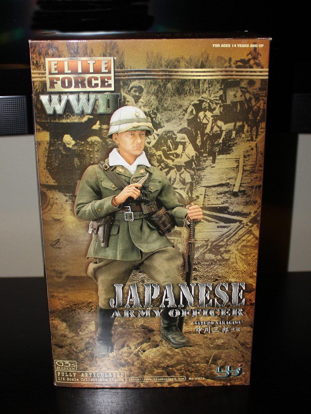 BBI Elite Force WWII Japanese Army Office Saburo Saburo Saburo Nakagawa MIB 74e5be