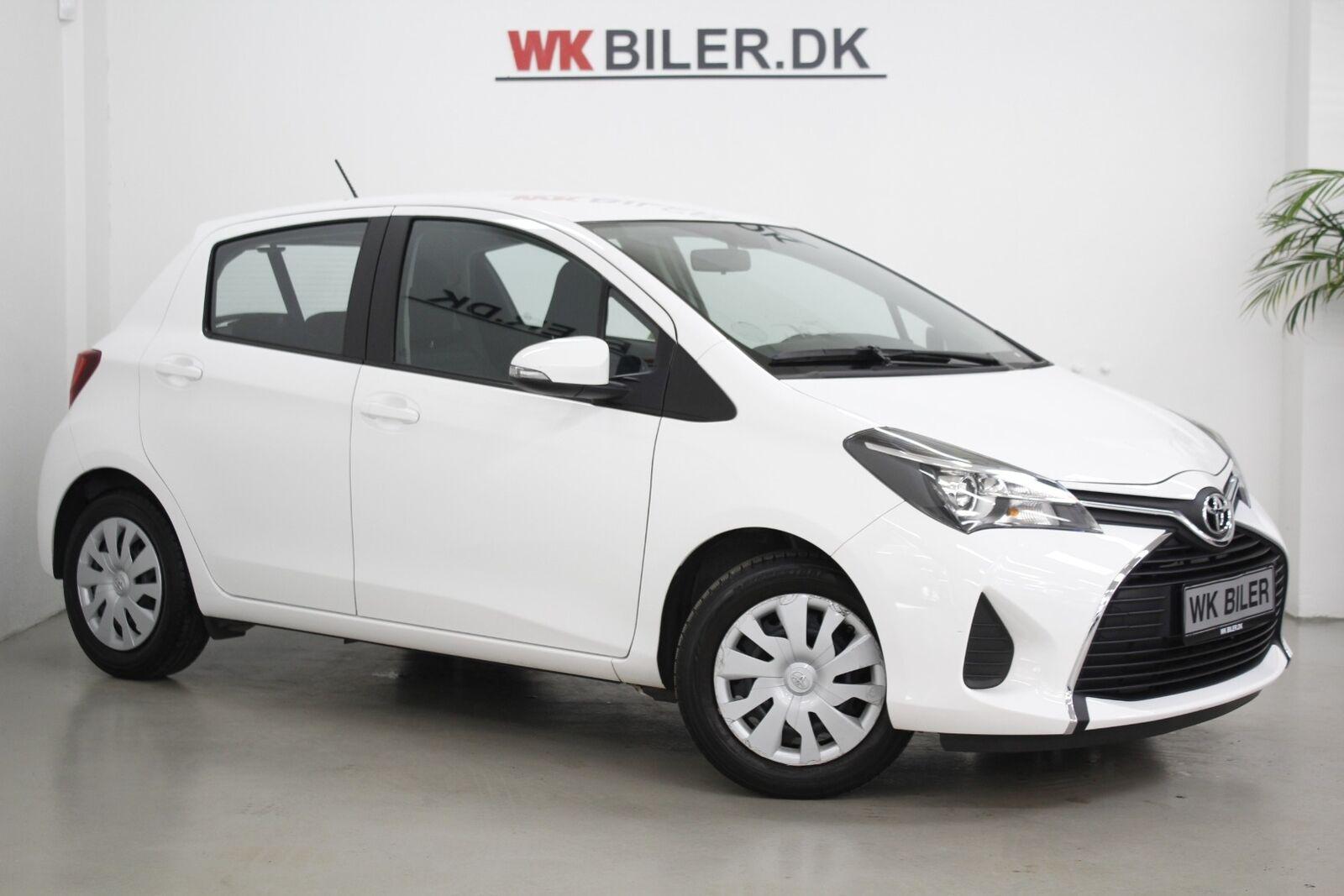Toyota Yaris 1,0 VVT-i T2 5d - 79.800 kr.
