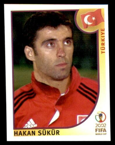 Panini World Cup Korea//Japan 2002 204 Hakan Sukur Turkey No