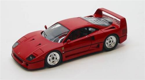 Ferrari F 40 Stradale Rosso 1:43 Redline Rl040 Modellino