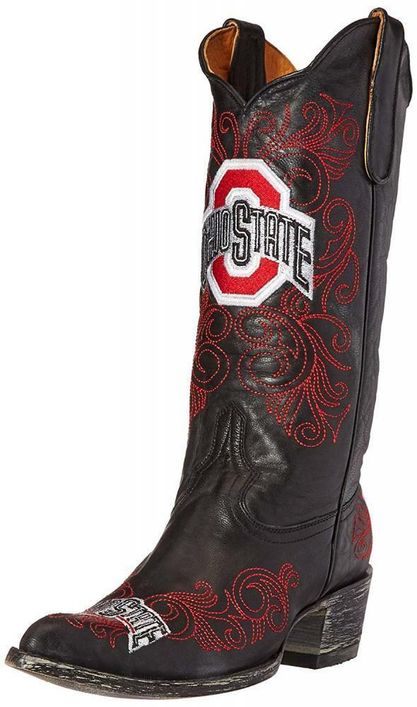 GAMEDAY botas National Collegiate Athletic Association Ohio State Buckeyes para para para mujer de 13 pulgadas  compras de moda online