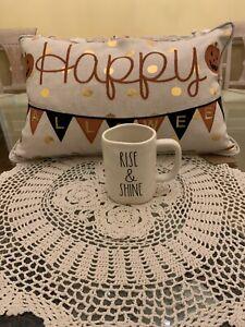 RAE-DUNN-034-RISE-amp-SHINE-034-MUG-COFFEE-TEA-MUG-ARTISAN-COLLECTION-BY-MAGENTA