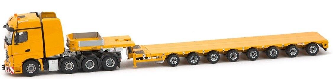 los clientes primero IMC33-0091 - Camion 8x4 MERCEDES Actros Big Space et remorque remorque remorque surbaissée 8 essie