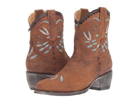 New Old Gringo Gringo Gringo Yippee Kay Yay para mujer nozama Bordado botas al Tobillo Talla 9.5  Para tu estilo de juego a los precios más baratos.