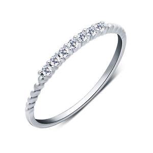 Estrecho-anillo-de-mujer-real-Sterling-plata-925-con-7-circonita-43-63-fina