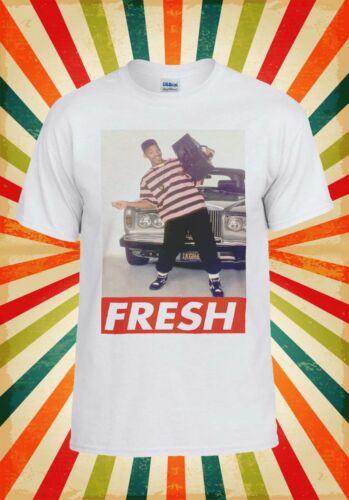 Fresh Prince Bel AIR Will Smith Cool Hommes Femmes Débardeur Tank Top Unisexe T Shirt 1986