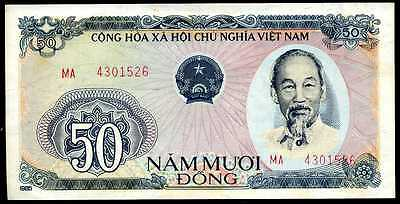 VIETNAM 50 DONG 1985 P 97 CIRCULATED