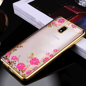 promo code c581d 1d09f Details about For Samsung Phones Fashion Girls Bling Electroplate Soft  Clear Back Cover Case