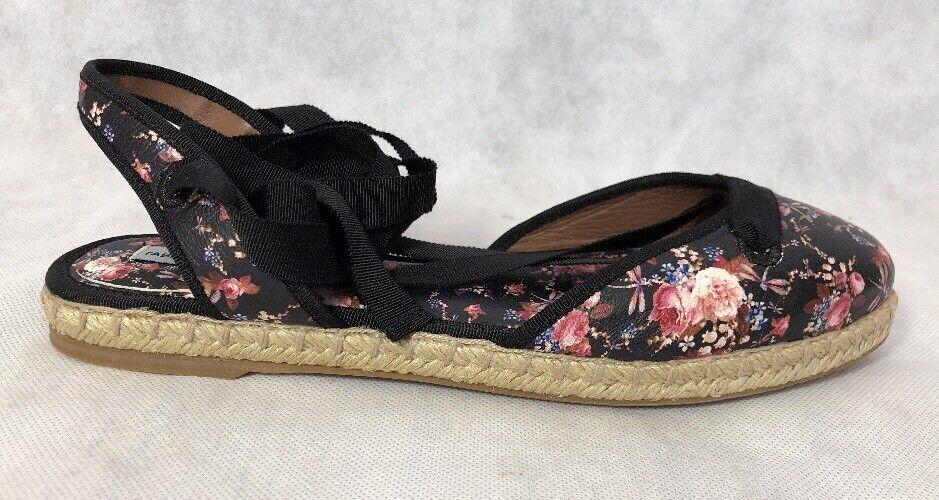 Tabitha Simmons Donna Shoes Size 38 NIB Espadrille Multicolor Floral