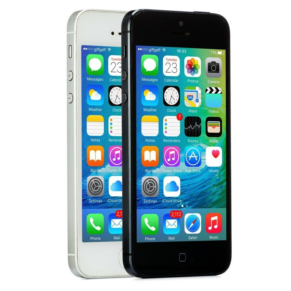 Apple Iphone 5 32gb White Silver Att A1428 Gsm Ebay Free Tempered Glass Refurbish