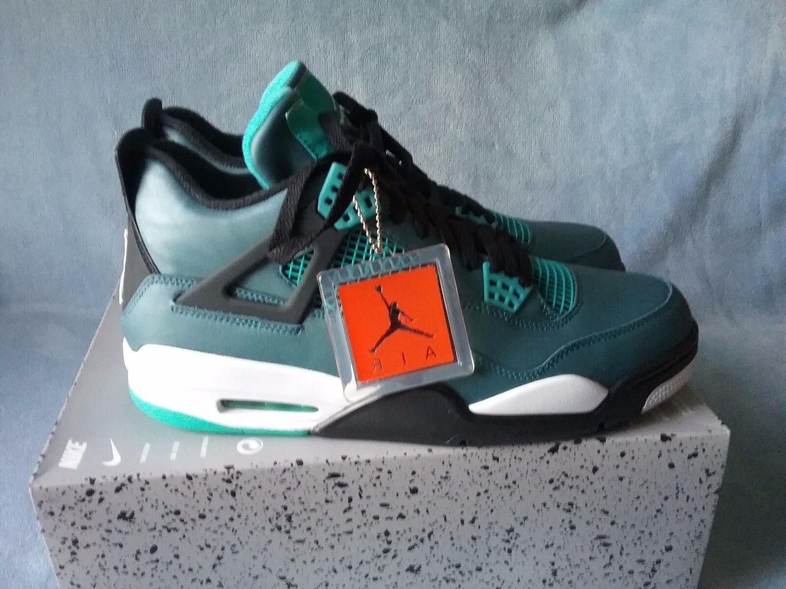 Men's Nike Air Jordan 4 Retro Teal  705331-330  11.5