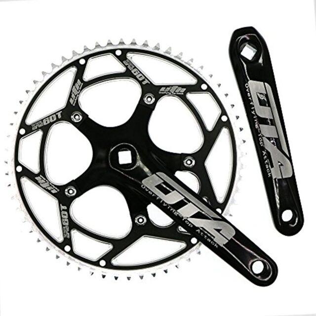 Bike Bicycle Crank Arms 5-Pin Aluminum Alloy Bicycle Crankset Arm 130BCD Silver