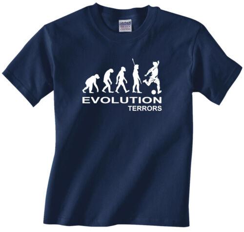 boys t-shirt Evolution Terrors Children youth Kids