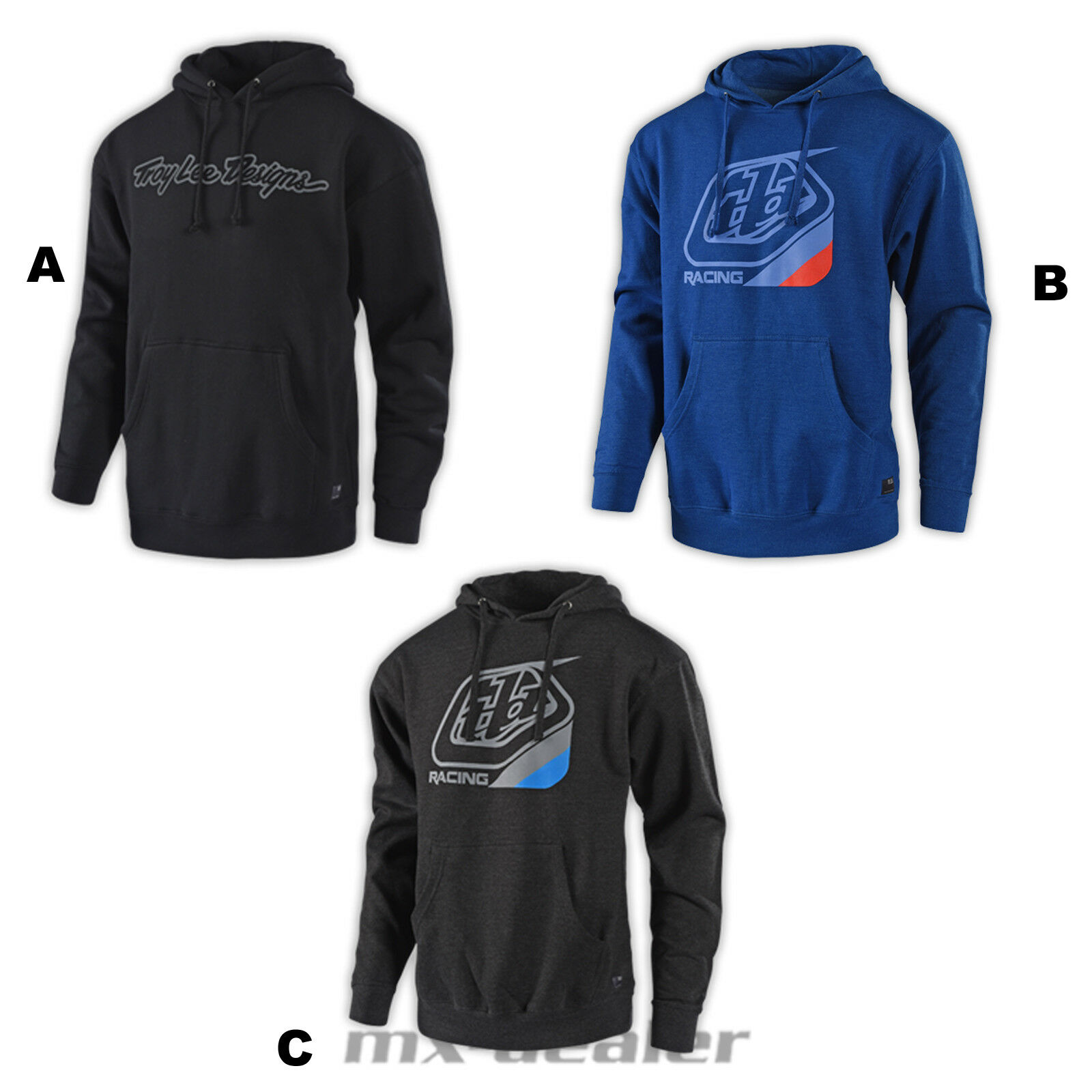 Troy Lee Designs Signature Hoody  Kapuzenpullover MX Motocross MTB BMX Enduro