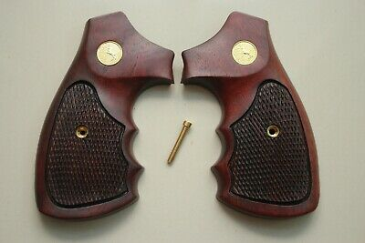 Colt Detective Special Grips 1st Model Long Round Butt D Frame Imitation Pearl