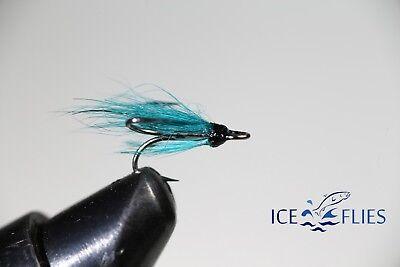 pack. 3 Brahan green micro tube fly ICE FLIES