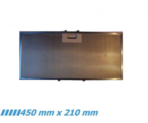 70 cm 450x210 mm Dunstabzugshauben Fettfilter refsta Modell VENTO Breite 60