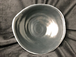 Obscure Ceramic Dish/Bowl - Obsidian - Black Porcelain - Direct from the Artist
