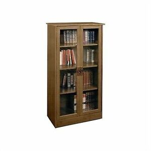 the best attitude 9cfe7 af191 Ameriwood 4 Shelves Bookcase Storage Cabinet Home Office Furniture Cherry