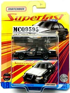 Matchbox Superfast 2006 Ford Crown Victoria Police NG115