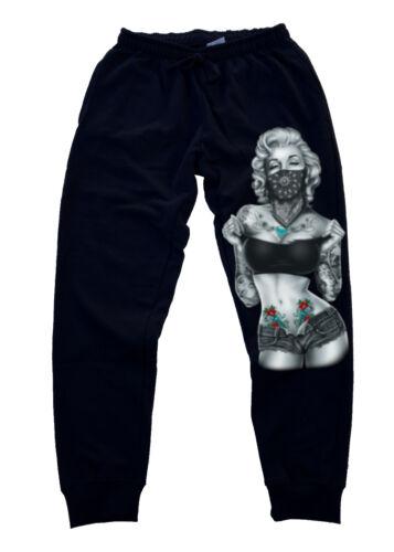 Men/'s Marilyn Monroe Standing Jogger Training Gym Workout pants fitness running