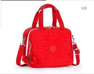 Tango Tine con Nuovo rosso etichette Lunch Kipling Miyo Bag Monkey qx4dUaR
