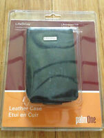 Palm Life Drive Black Leather Case Holder 32199ww Lifedrive Genuine