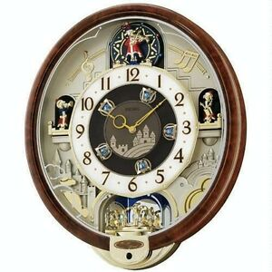 seiko melodies in motion musical clock beatles songs wall