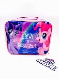 95098e3c3dd8 Details about My Little Pony Insulated Lunch Bag Official Licensed  Character School Lunch Bag