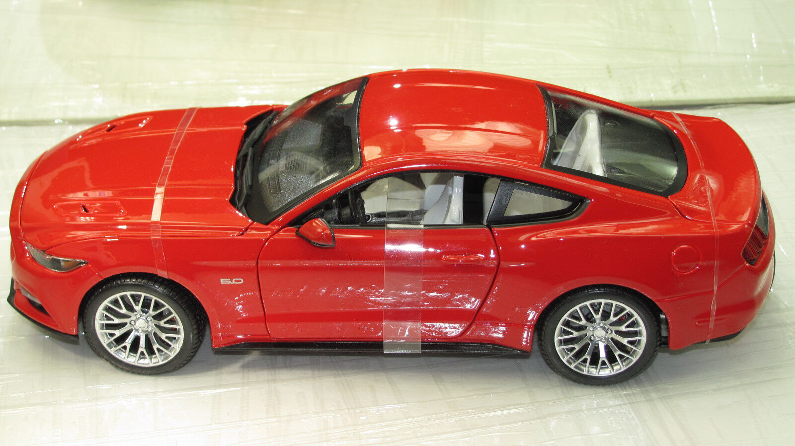 2015 2015 2015 MUSTANG GT COUPE FIRE RED WHITE SEATS      ed72f6