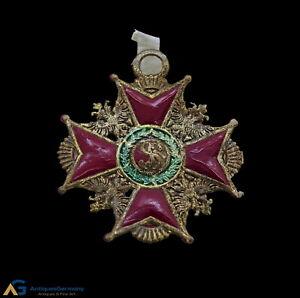 Rare german dresden cardboard medal, cotillon medal, ca. 1880 / 1900  (# 7574)