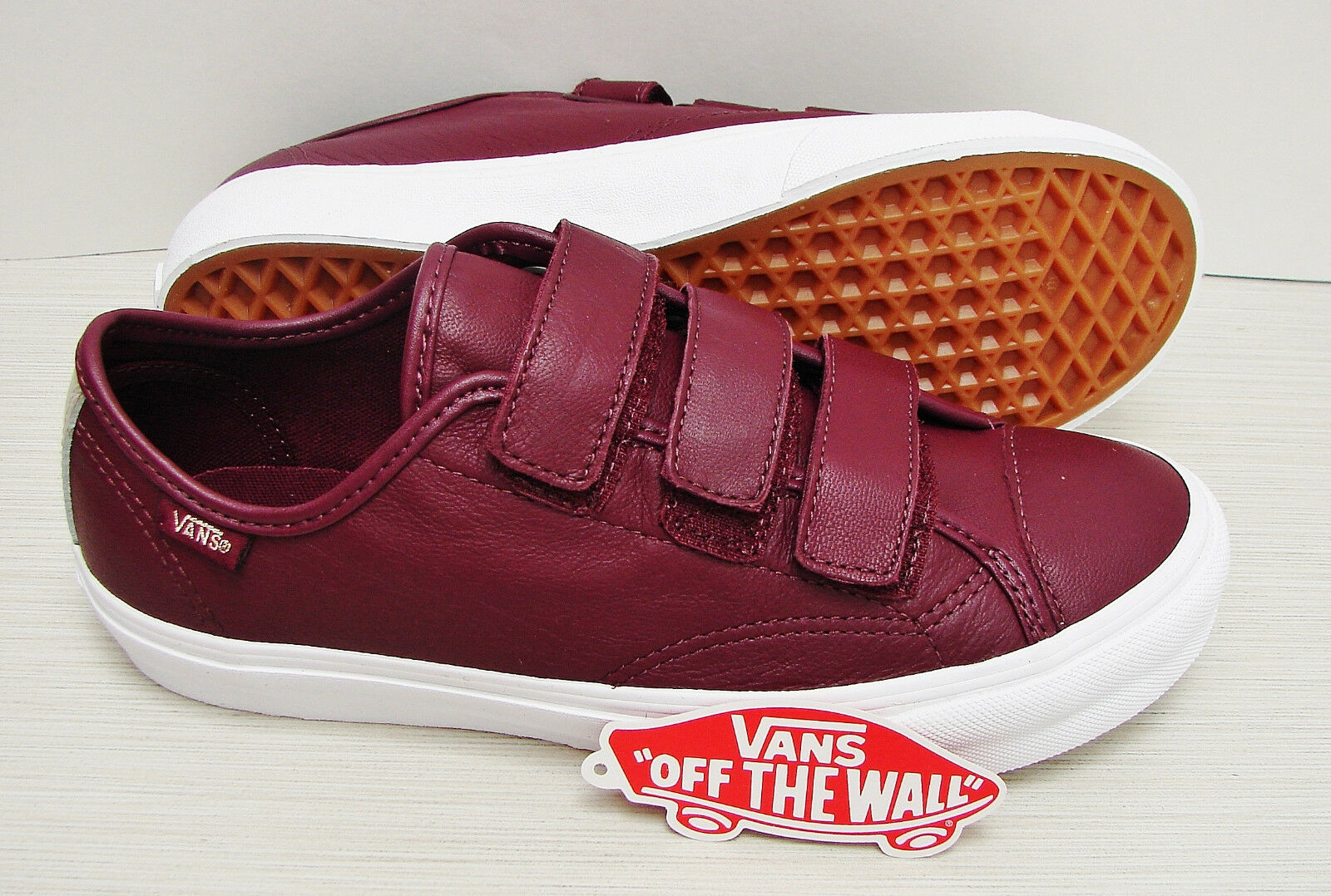 Vans Style Style Style 23 V 2 Tone Leather Metallic Port Royale VN0A38GCMWX Womens Size  9.5 a7c328
