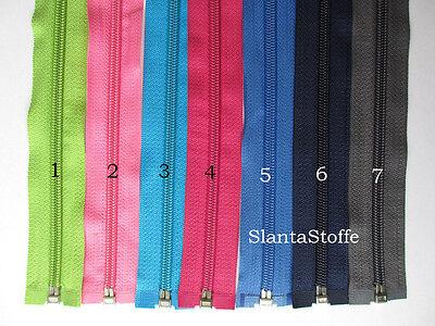 Reißverschluss Profil teilbar 50cm 8 Farben